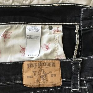 True Religion Jeans - True Religion Straight Flap Natural Jeans